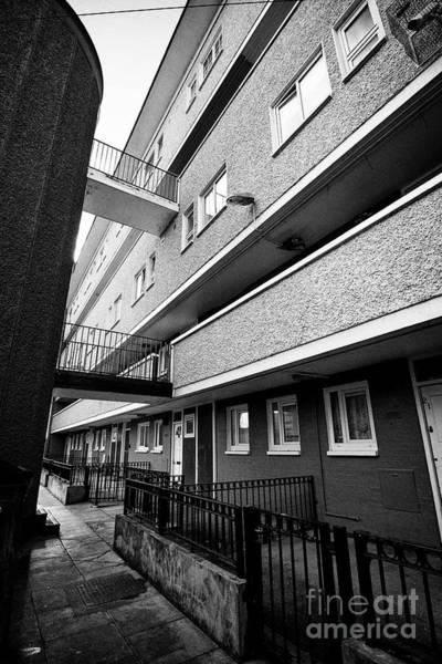 Wall Art - Photograph - north clarence street flats public housing ballybough Dublin Republic of Ireland europe by Joe Fox