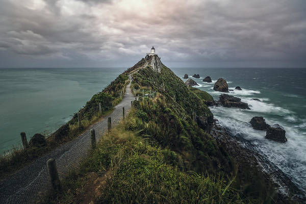 Te Waipounamu Wall Art - Photograph - Nugget Point - New Zealand by Joana Kruse