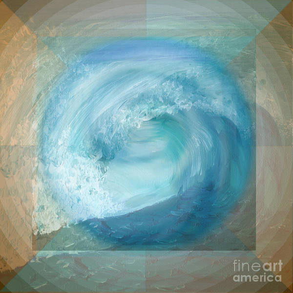Digital Art - Ocean Earth  by Shelley Myers