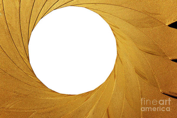 Wall Art - Photograph - Old Aperture - Exposure Diaphragm by Michal Boubin
