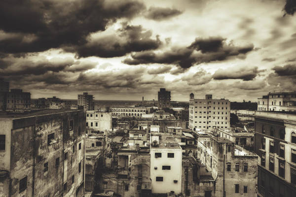 Wall Art - Photograph - Old Buildings Of Havana by Mountain Dreams