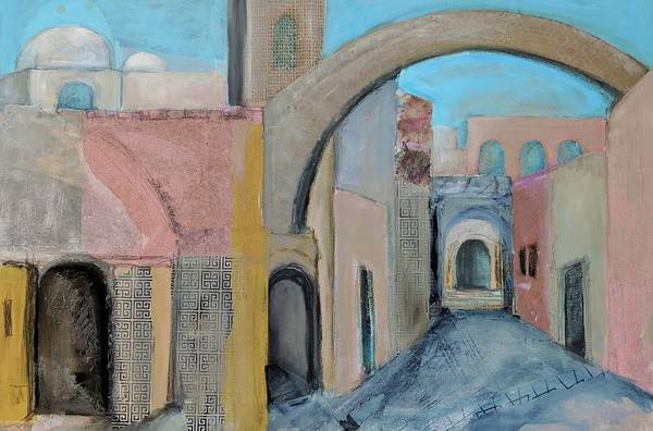 Painting - Old City by Jillian Goldberg