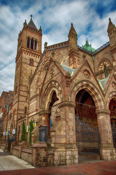 Photograph - Old South Church - Boston by Joann Vitali