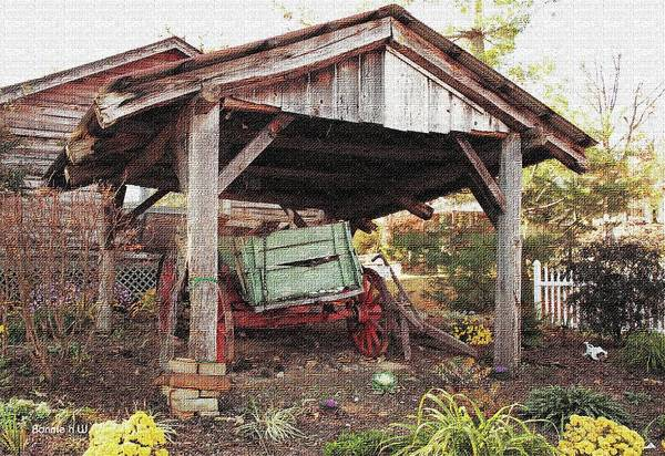 Photograph - Old Wagon  by Bonnie Willis