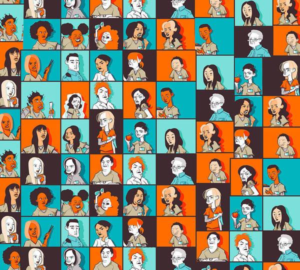 Wall Art - Digital Art - Orange Is The New Black by Geek N Rock