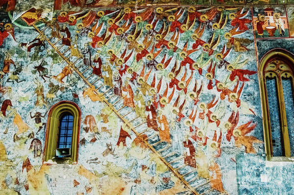 Photograph - Paintings In Frescoes Of Relig by Joaquin Corbalan