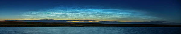 Wall Art - Photograph - Panorama Of Noctilucent Clouds by Alan Dyer