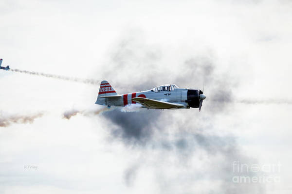 Japanese Zero Photograph - Pearl Harbor Raider by Rene Triay Photography
