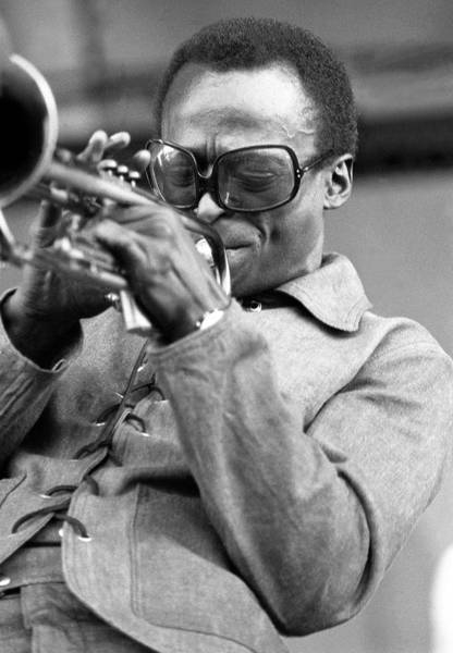 Photograph - Performing At Newport Jazz Festival by Tom Copi