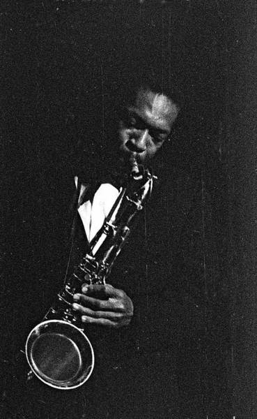 John Coltrane Wall Art - Photograph - Perfrorming In West Germany by Michael Ochs Archives