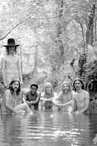 Georgia Photograph - Photo Of Allman Brothers by Michael Ochs Archives