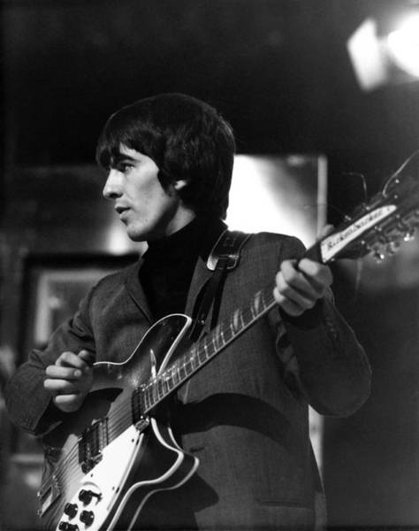Photograph - Photo Of Beatles And George Harrison by David Redfern