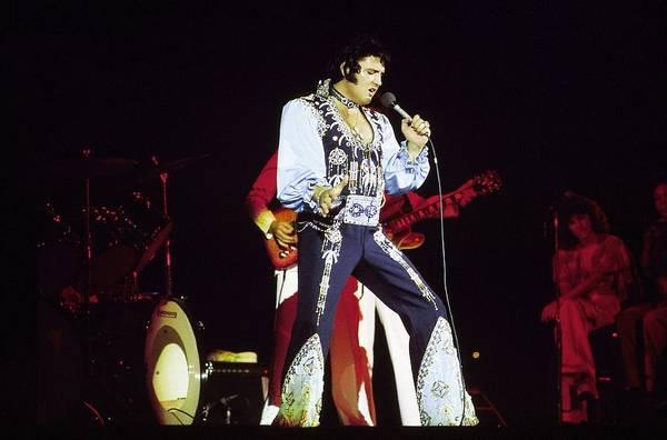 Photograph - Photo Of Elvis Presley by Steve Morley