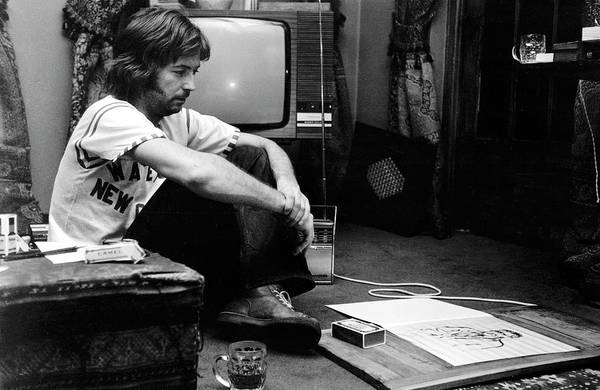 Music Photograph - Photo Of Eric Clapton by Graham Wiltshire