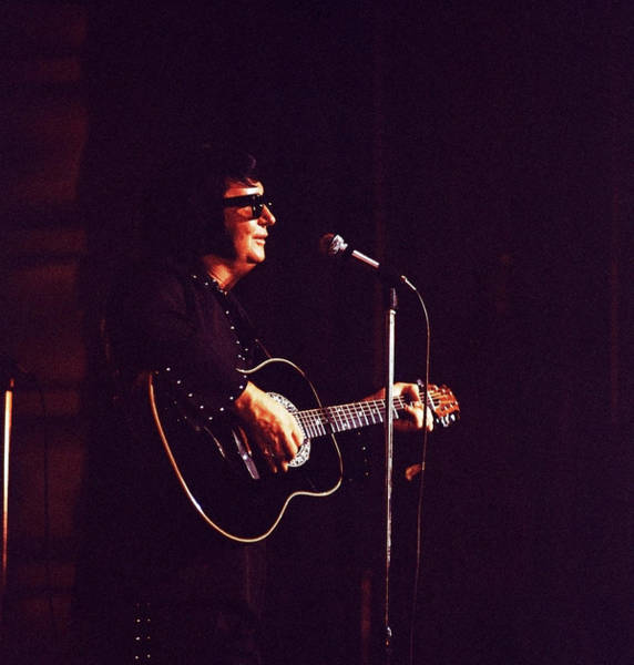 Manchester Photograph - Photo Of Roy Orbison by David Redfern