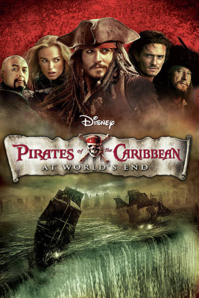 Pirates Of The Caribbean Digital Art - Pirates Of The Caribbean  by Geek N Rock