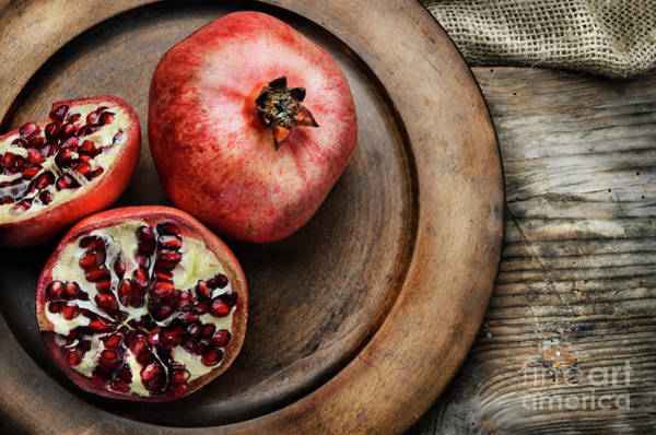 Wall Art - Photograph - Pomegranate by Jelena Jovanovic