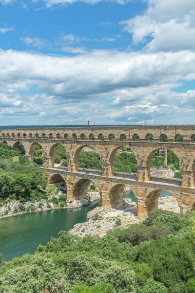 Wall Art - Photograph - Pont Du Gard, France by Jim Engelbrecht