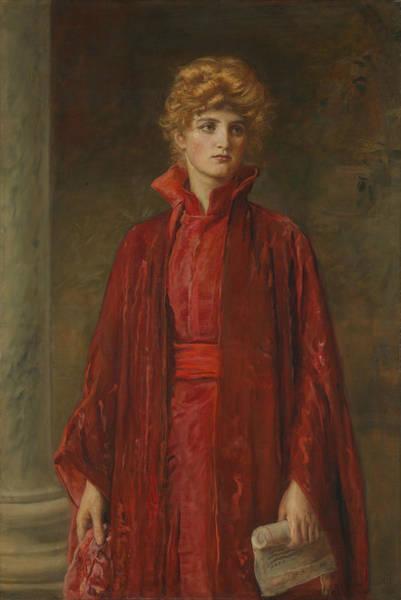 Painting - Portia by John Everett Millais