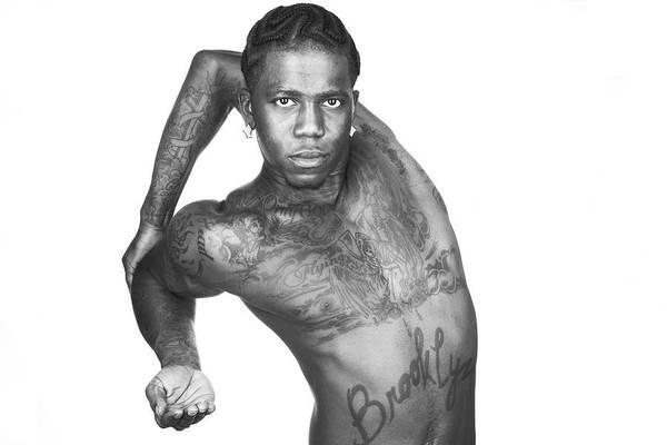 Hip Photograph - Portrait Of A Hip Hop Dancer by Hans Neleman