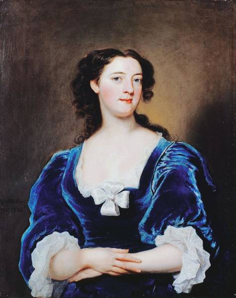 Painting - Portrait Of A Lady by Joseph Highmore