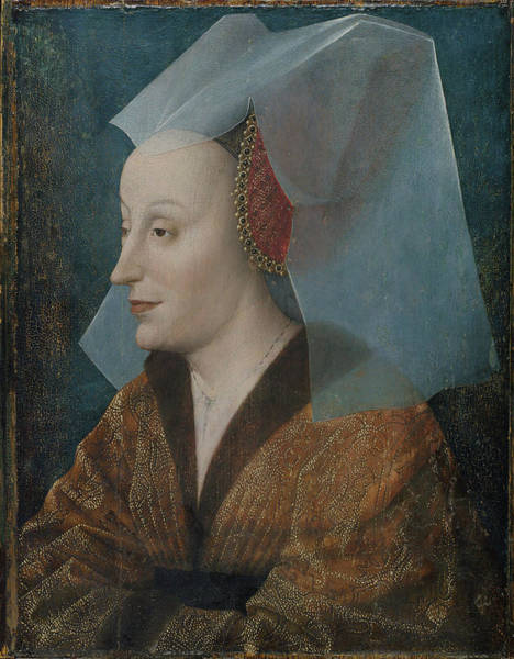 Wall Art - Painting - Portrait Of A Noblewoman by MotionAge Designs