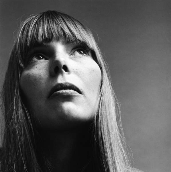 Photograph - Portrait Of Joni Mitchell by Jack Robinson
