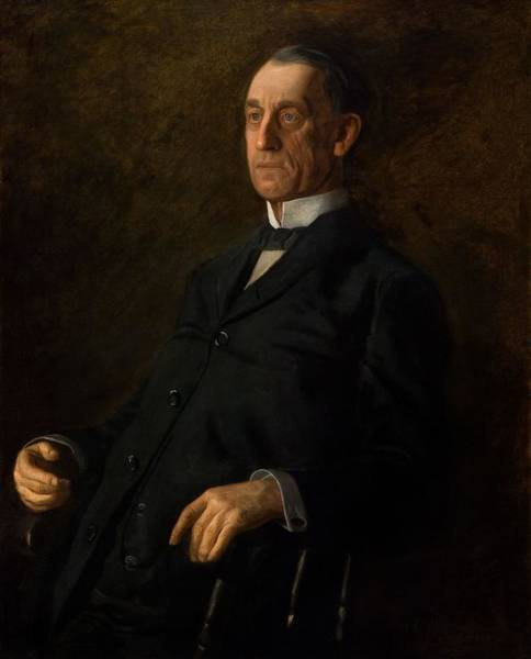 Wall Art - Painting - Portrait  by Thomas Eakins