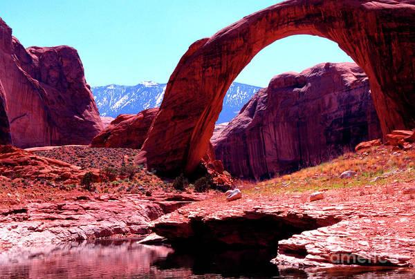 Photograph - Rainbow Bridge National Monument by Thomas R Fletcher