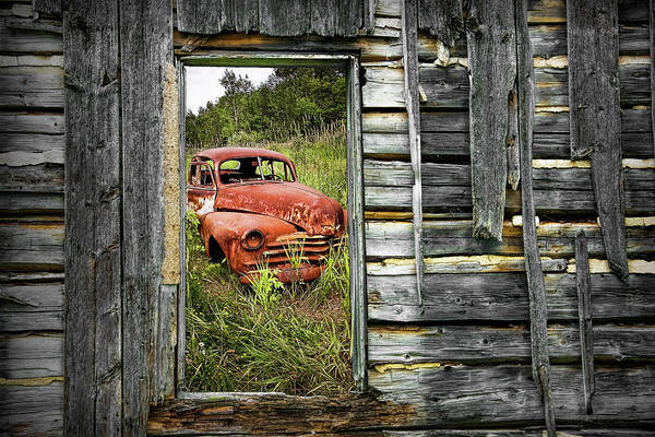 Wall Art - Photograph - Ravages Of Time by Randall Nyhof