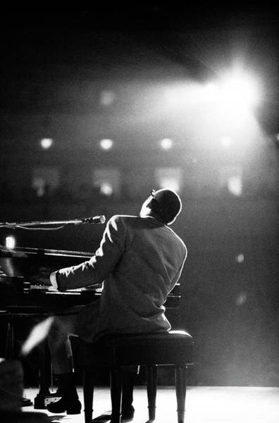 Soul Wall Art - Photograph - Ray Charles At Carnegie Hall by Bill Ray