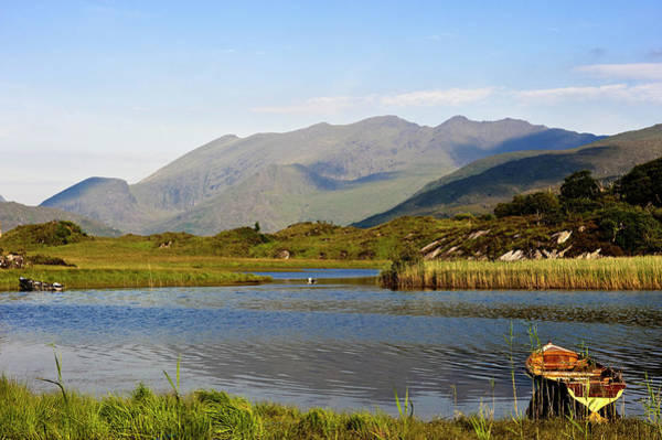 Rowboat Photograph - Republic Of Ireland, Kerry County by Mattes René / Hemis.fr