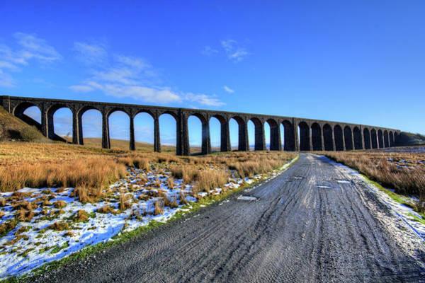 Wall Art - Mixed Media - Ribblehead Viaduct by Smart Aviation