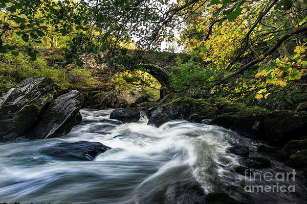 Wall Art - Photograph - River Llugwy by Ian Mitchell