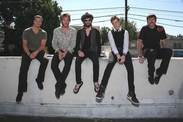 Rock Music Photograph - Rock Band Emery by Jim Steinfeldt