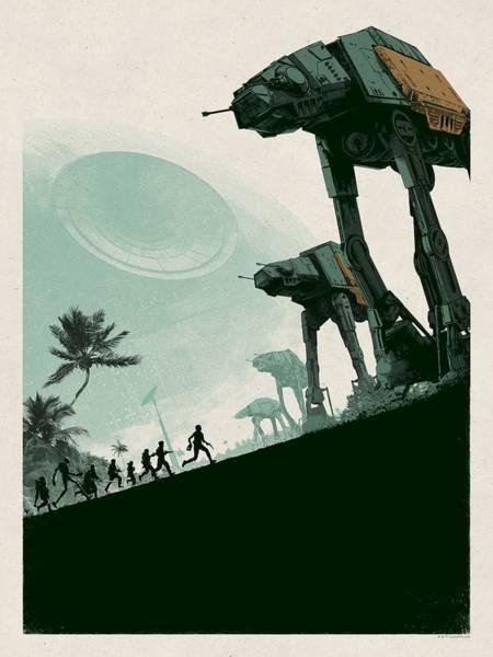 Star Wars Wall Art - Digital Art - Rogue One by Geek N Rock