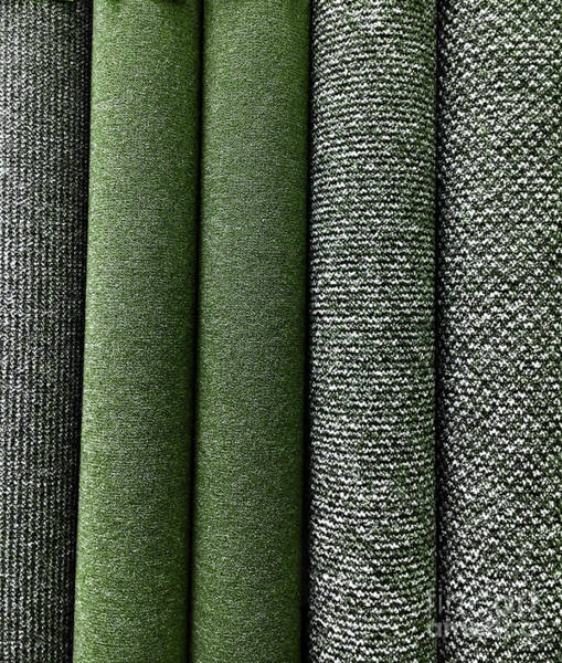 Wall Art - Photograph - Rolls Of New Carpet by Tom Gowanlock