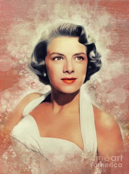 Wall Art - Painting - Rosemary Clooney, Music Legend by John Springfield