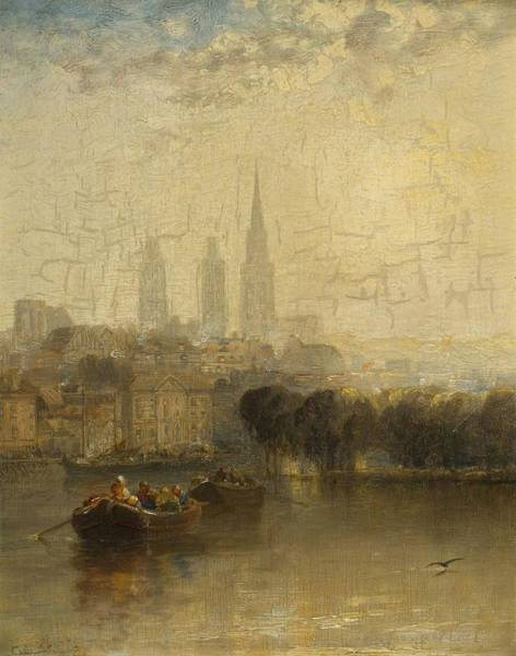 Wall Art - Painting - Rouen by Arthur James Meadows