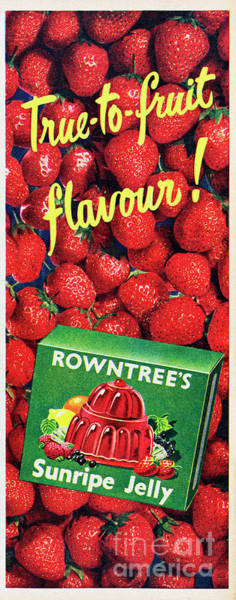 Wall Art - Photograph - Rowntrees Sunripe Jelly by Picture Post