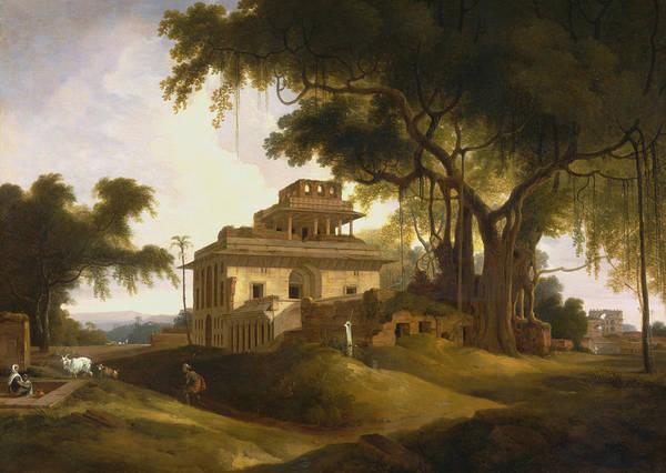 Painting - Ruins Of The Naurattan, Sasaram, Bihar by Thomas Daniell