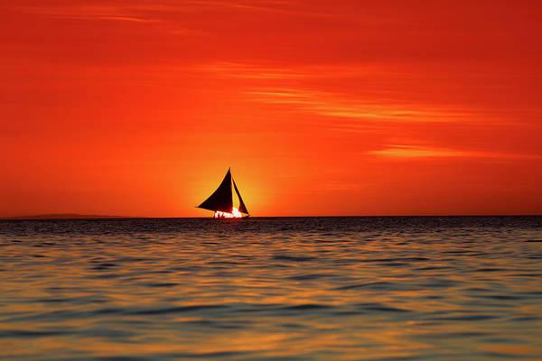 Sailing Photograph - Sailing Sunset by Vuk8691