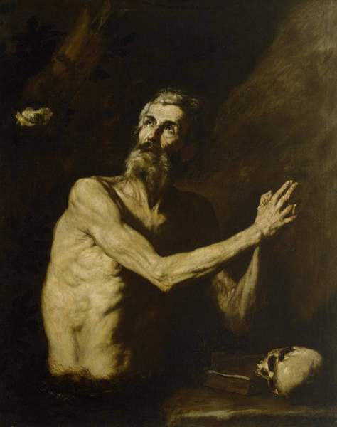 Painting - Saint Paul The Hermit by Jusepe de Ribera