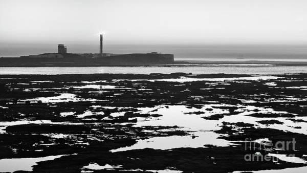 Photograph - Saint Sebastian Castle Lighthouse Cadiz Spain by Pablo Avanzini