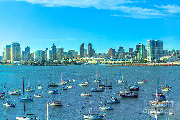 Photograph - San Diego Bay by Benny Marty