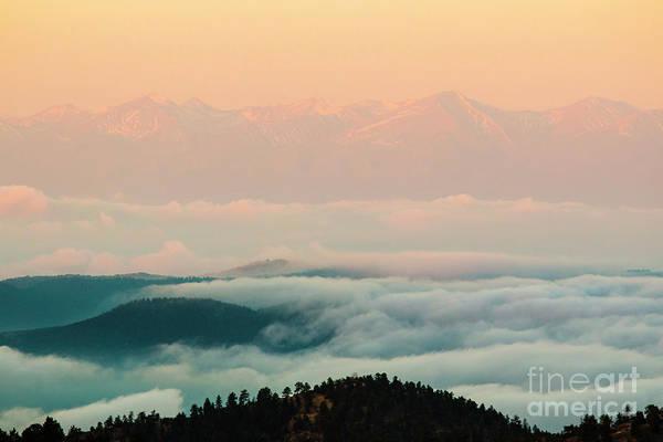 Photograph - Sangre De Cristo Lake Of Fog by Steve Krull