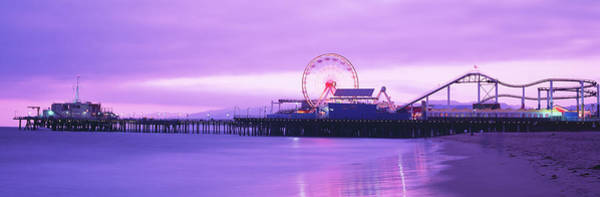 Wall Art - Photograph - Santa Monica Pier California Usa by Panoramic Images