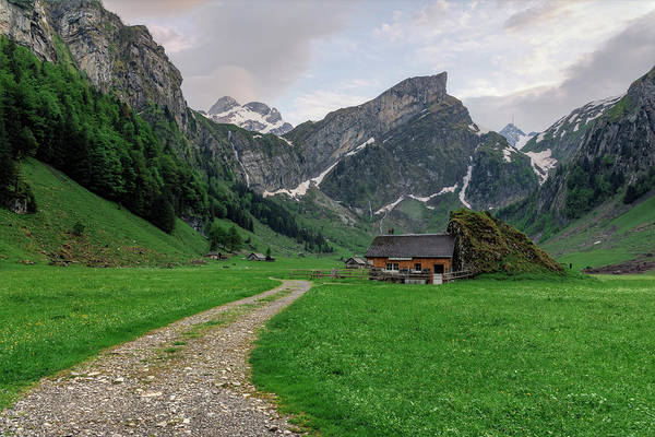 Wall Art - Photograph - Seealpsee - Switzerland by Joana Kruse