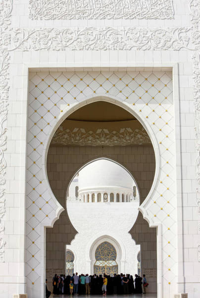 Wall Art - Photograph - Sheikh Zayed Grand Mosque. The Main by Uig