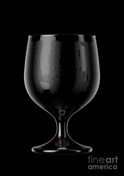 Frosty Digital Art - Snifter Beer Pint by Allan Swart